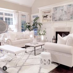 747 Best White Furniture images in 2019 | Living room decor ...