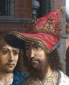 The Adoration of Kings (detail), by Jan Gossaert