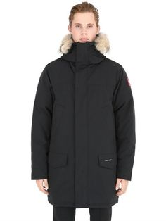 Canada Goose coats replica discounts - Men's Canada Goose 'Banff' Slim Fit Parka with Genuine Coyote Fur ...