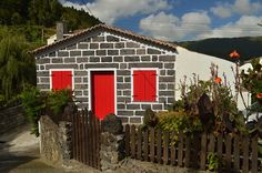 #Azores #SaoMiguel #furnas #architecture #colors
