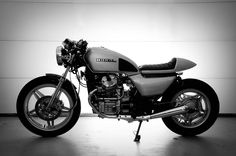 '82 Honda GL500 Cafe RACER.  Mine is an '81, but with some love, care, and grease it can look like this.