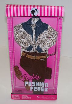 2007 Barbie Fashion Fever Fashions Ken Clothing Set L3386 NRFB | eBay