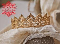 Princess or Prince various size crown Prop by greenearthstudio
