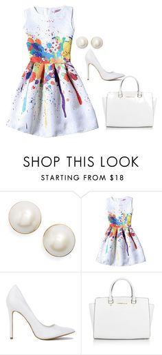 """a pop of color -✩ Holly ✩- // happyhippolover"" by the-southern-belles ❤ liked on Polyvore featuring Kate Spade, Michael Kors and hollysclassics"