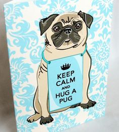"""Love this take on the """"Keep calm and carry on"""" art."""