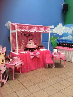Minnie Mouse Birthday Party Ideas | Photo 7 of 13 | Catch My Party