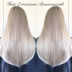 #BeautyWorks #HairExtensionsBournemouth #Balayage #Blonde #HairExtensions #MicroWeft #SleekHair #NaturalBlonde