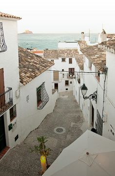 Altea, Alicante, Spain.