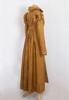 i love historical clothing: silk damast pelisse 1815