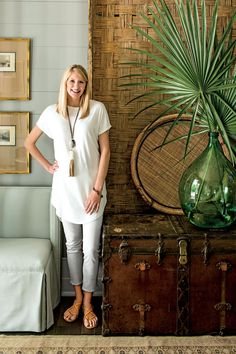 Montgomery-based interior designer Ashley Gilbreath shares her inspiration for the entryway and guest bedroom of the 2016 Southern Living Idea House. Cottage Design, House Design, Ashley Gilbreath, British Colonial Decor, Southern Living Homes, Deco Boheme, Bedroom Images, Interior Decorating, Interior Design