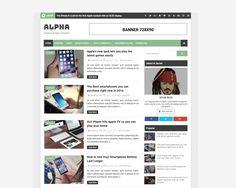 Alpha Niche Blogger Template
