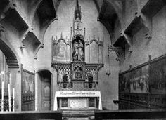 Schiedam, H. Liduina: De Liduinakapel in de Schiedamse St. Liduinakerk. Uit Sancta Liduina nr. 1, oktober 1931.