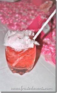 Pink Cotton Candy Cocktail Signature Drink Kids Drink