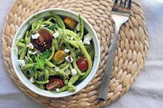 Quick and Healthy Zucchini and Spinach Pesto   Girl Cooks World