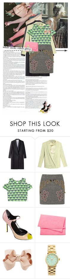"""""""Untitled #980"""" by elifuks ❤ liked on Polyvore featuring Band of Outsiders, Diane Von Furstenberg, Retrò, STELLA McCARTNEY, Pierre Hardy, Cheap Monday, Topshop and Marc by Marc Jacobs"""