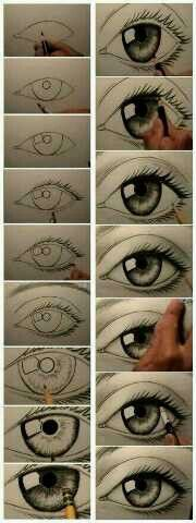 Eye drawing!