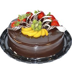 Decorados de pasteles con frutas - Imagui
