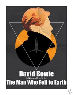 David Bowie - The Man Who Fell to Earth poster