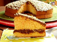 Torte dicarote e mandorle con nutella-ricetta torte-golosofia