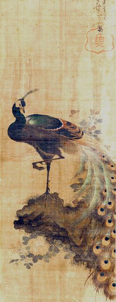 Why Furniture So Expensive Japanese Ink Painting, Japan Painting, Peacock Images, Peacock Art, Japanese Bird, Bird Illustration, Illustrations, Video Game Art, Chinese Art