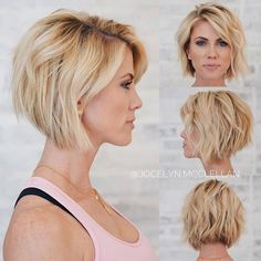 40 Best Short Hairstyle Ideas 2019 - The Best Ideas - frisuren - Bob HairStyles Mens Hairstyles Thin Hair, Medium Bob Hairstyles, Cool Hairstyles, Hairstyle Ideas, Hairstyles Pictures, Hair Ideas, Latest Hairstyles, Hairstyles For Over 40, Medium Short Hairstyles