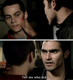 Tell me who did it? #sterek #edit #manip