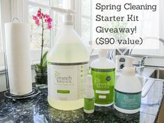 Branch Basics cleaning products giveaway via http://MamaNatural.com