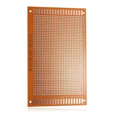 5 Pcs 9 x 15cm PCB Prototyping Printed Circuit Board Breadboard Prototype Specification: Material: Bakelite Dimension: 9 x 15cm Thickness: 1.5mm Hole pitch: 2.54mm Hole inner diameter: 1.0mm Note: Each measures 9 x 15cm with 1440 through holes (0.1 inch industrial standard spacing) for mounting...