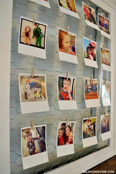 Talento Interiorismo: DIY - 6 Maneras Originales de colgar tus fotos