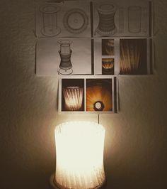 Bye bye Spring Break  #parametricdesign #lamp #architecture by julia_tadei