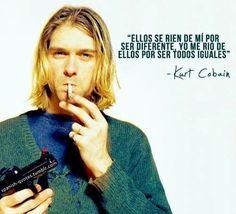 Las mejores Frases de Kurt Cobain, verdades de Un grande.