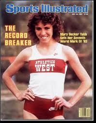 Mary Decker became 1st woman to run a mile in 4 1/2 minutes. (January 26, 1980)