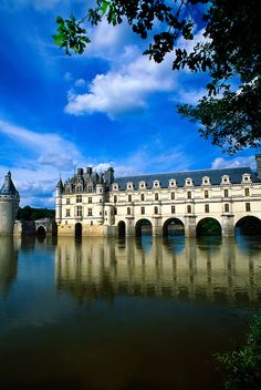 Chateau de Chenonceau, Chenonceaux, near Amboise, Loire Valley, France (Photo copyright: Blaine Harrington III). I was there with my sweet Caroline! A trip that every mother and daughter should take - to France! Places Around The World, Oh The Places You'll Go, Places To Travel, Places To Visit, Around The Worlds, Beautiful Castles, Beautiful Places, Belle France, Loire Valley