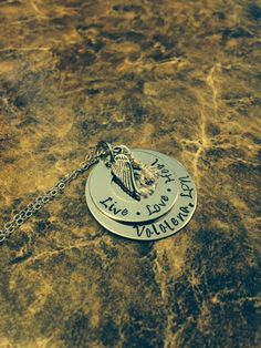 A personal favorite from my Etsy shop https://www.etsy.com/listing/189496517/hand-stamped-nurse-necklace-with