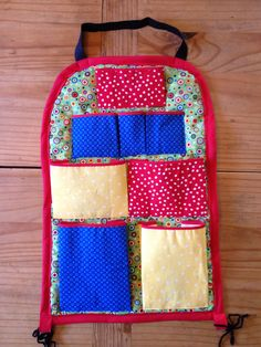 Behind the seat car organizer for kids of all ages; Just Jenn Home Arts