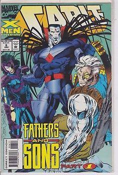 Cable #6 Marvel Comics 1993 Vol. 1 series Deadpool Movie X-men Bishop