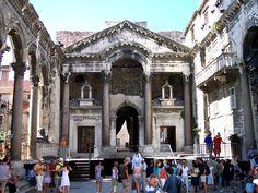 Split - Croatia - Palace of Diocletian