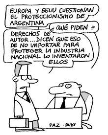 Proteccionismo argentino - Paz y Rudy
