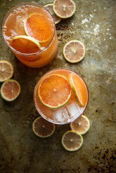 Grapefruit Whiskey Sour | Heather Christo