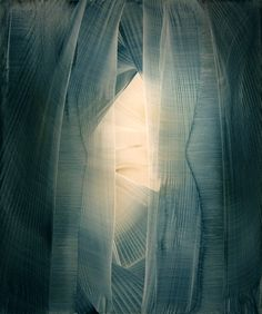 Roi James ~ The Blue Veil, 2012 (oil)