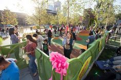 PARK : Grand Park Playground: Downtown park just got Seussified with a whimsical new playground that would make Horton, the Lorax and even the Cat in the Hat feel at home.