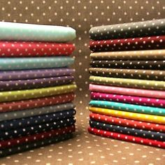 """Rose /& Hubble Bright Red 3mm Polka Dot Spotty Cushion Cover 16/"""" Shabby Chic"""