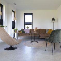 Découvrez nos astuces pour adopter le béton ciré chez soi. #sol #béton #ciré #déco #intérieur #home #design #contemporain #salon