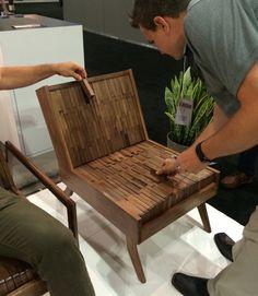 wood seating by Sitskie