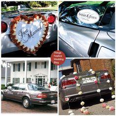 Stylish Wedding Car Decorations