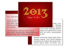 Happy New Year 2013 PowerPoint template
