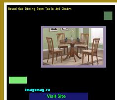 Round Oak Dining Room Table And Chairs 102017 - The Best Image Search