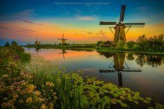 Kinderdijk, Netherlands. #travel-paradise divine, netherlands