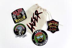 [BUNDLE] Sticker Pack w/ Printed Bag | Major Lazer |  Mad Decent
