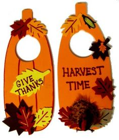 Thanksgiving Crafts | Craft Supplies: Sunshine Discount Crafts: Fall/Thanksgiving Door ...